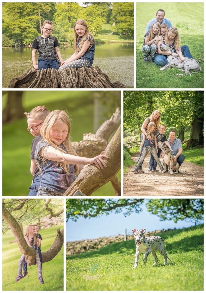 Photo shoot in Lyme Park